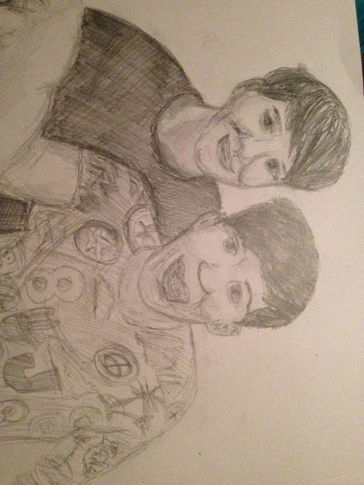 Twenty minuet sketch of Dan and Phil