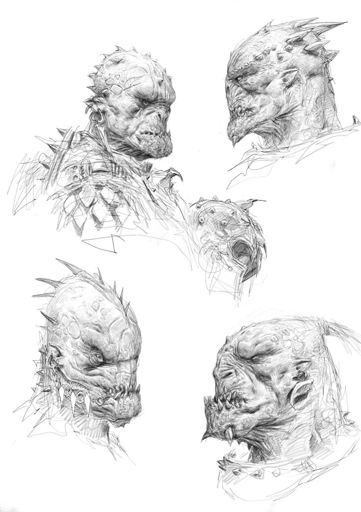 135 best Orcs Trolls Goblins and Ogers images on Pinterest