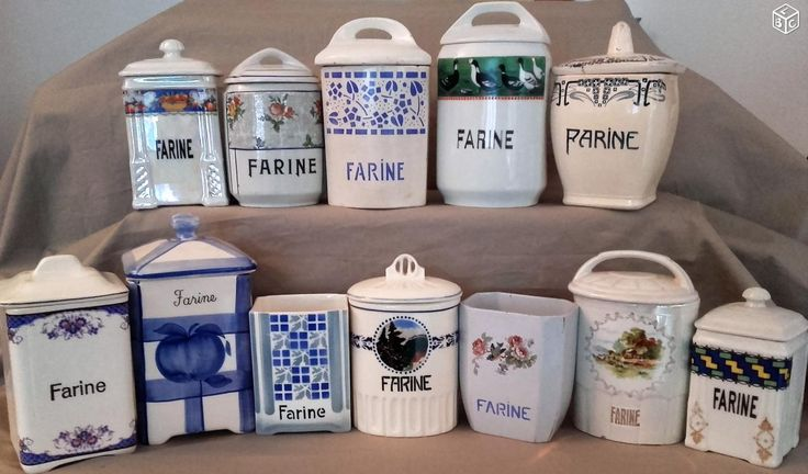 Pots à épices vintage farine Arts de la table Paris - leboncoin.fr