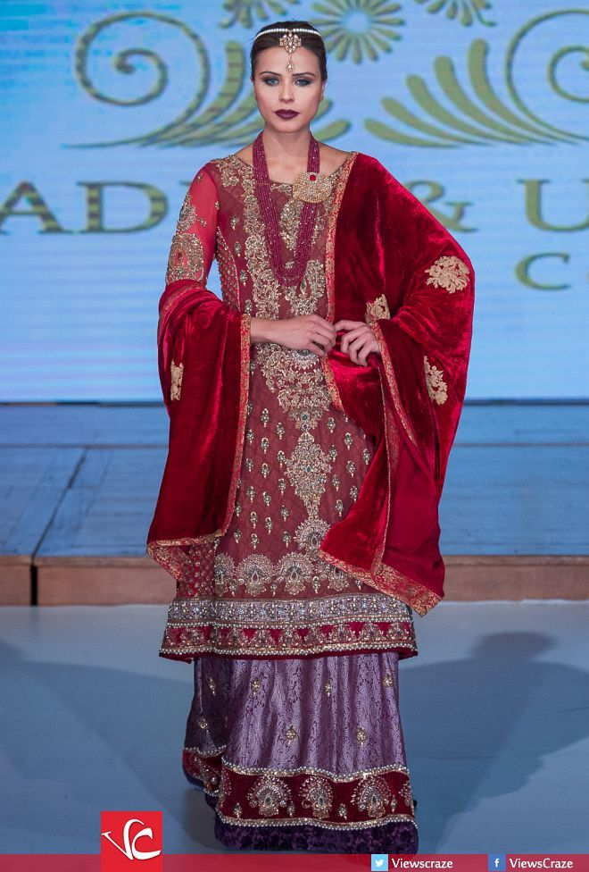 Khadija and Obaid's Collection at Pakistan Fashion Week 8 London 2015 (PFW8)