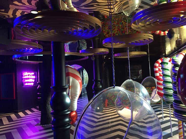 Circus Club Ortakoy Istanbul Turkey #night #club #circus #interior #design #elephant #candy #zigzag by Gsc Design | Interiors | Atelier