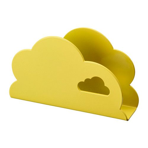 cloud napkin holder from Ikea - this would be cute on a desk