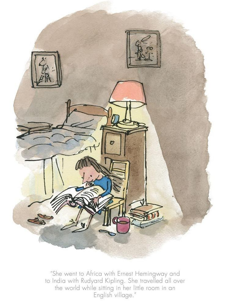 Matilda-She Travelled All Over The World By Quentin Blake