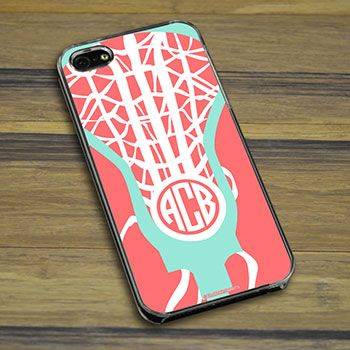 Lacrosse iPhone/Galaxy Case Monogrammed Lax Life - Protect what you love in style with our Monogrammed Lax Life smartphone case. Fits the iP...