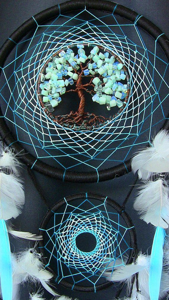 Atrapasueños atrapasueños indio talismán menta de árbol de la