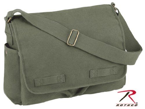Classic Army Heavyweight Messenger Shoulder Bag -@- http://geekarmory.com/classic-army-heavyweight-messenger-shoulder-bag/