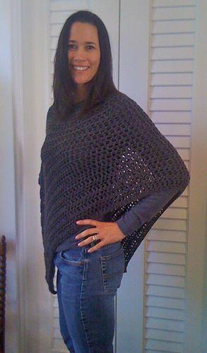 crochet poncho ༺✿ƬⱤღ✿༻