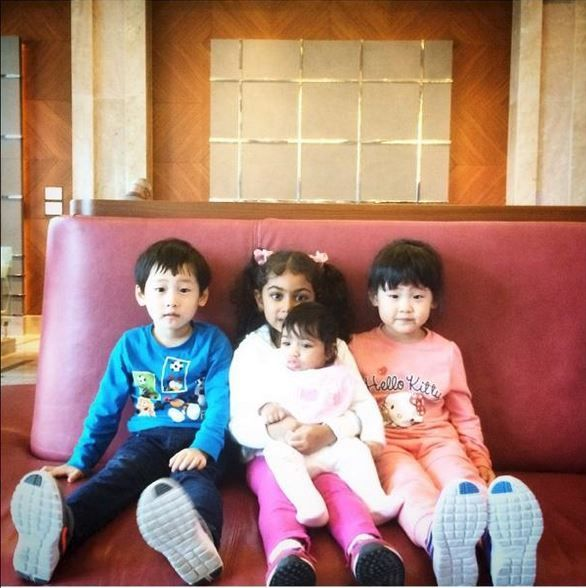 Repost from @muhamad_alayoubi: Say hello to our little guests! Küçük misafirlerimize merhaba diyin! #sheraton #bursa #sheratonbursa #hotel #kids #children #lobby #guests #smile #betterwhenshared