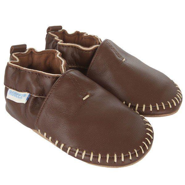 Robeez Classic Moccasin Crib Shoe Infant