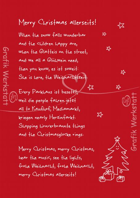 Lustige Weihnachtsgedichte Kurz.Kurze Lustige Gedichte Zu Weihnachten