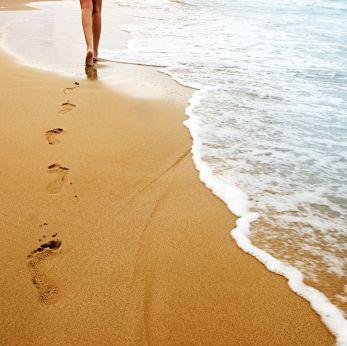 Beach walk, Mozambique www.africantravel.com