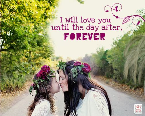 I will love you until the day after forever! share if you agree! #mother #mom #baby #daughter #Child #boy #motherhood