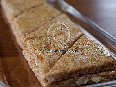 Authentic Pasteli - honey/sesame wafers