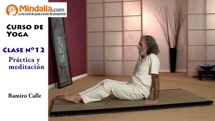 Práctica y meditación por Ramiro Calle. CLASE DE YOGA 12 | Mindalia.com Televisión
