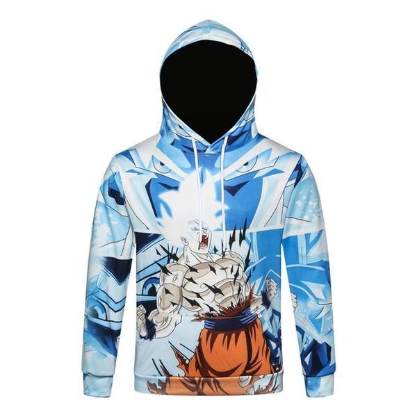 Naruto Dragon Ball Z Hoodies 3d Print Pullover Sportswear Sweatshirt Dragonball Super Saiyan Son Goku Vegeta Vegetto Outfit Tops Swagg