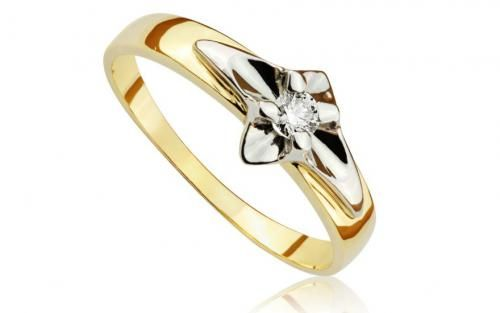 Diamantový prsteň Allways young 0,065 ct
