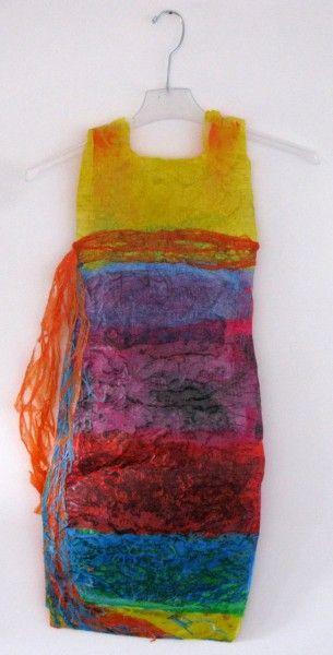 Fused Plastic Grocery Bag Dress!