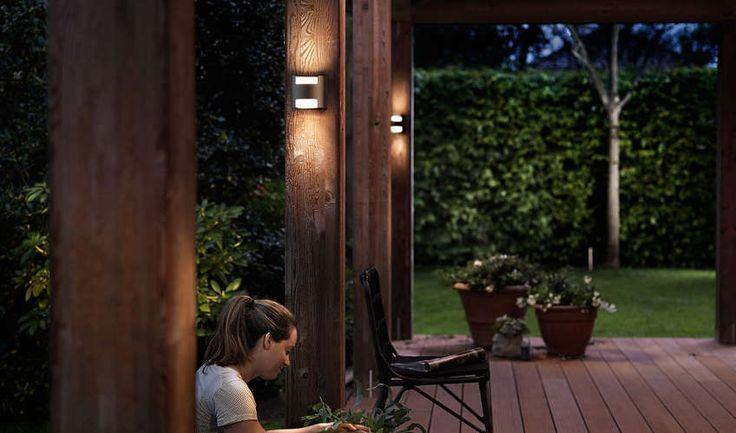 Wandlamp Philips Outdoor myGarden Grass 173219316 - Philips myGarden Outdoor - Lamp123.nl