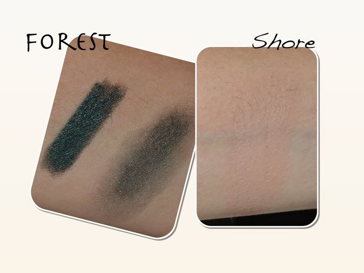 NOSINMYMAKEUP: Sombras en crema de Bobbi Brown : Forest y Shore