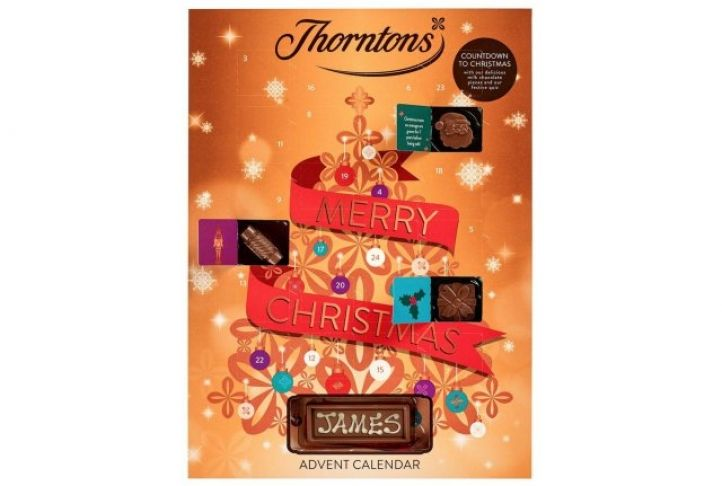 Personalised Thorntons Advent Calendar | Absolute Home