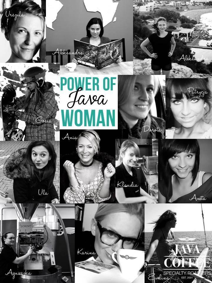 power of JAVA WOMAN