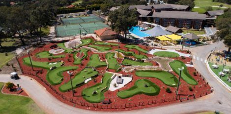 Build a miniature golf course that is stunning and enjoyable to use with Mini Golf Creations