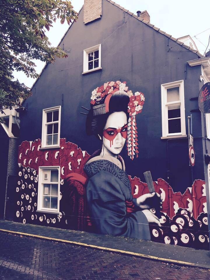 FinDAC ........ Street Art .......... Breda .... Netherlands