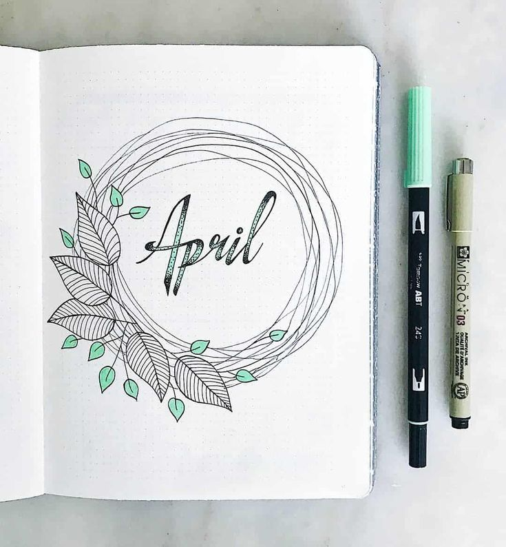 25+ Awesome mint green bullet journal themed spreads!