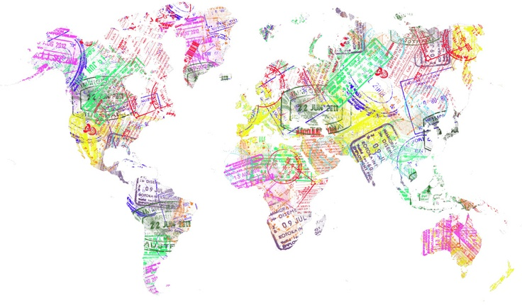 Use of passport stamps