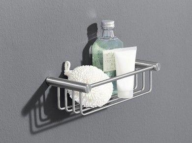 duschkorb edelstahl duschablage zack civio 40242 - Duschablage Ecke