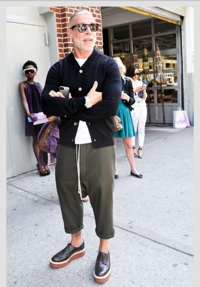 Nick Wooster, Men's Spring Summer Fashion.