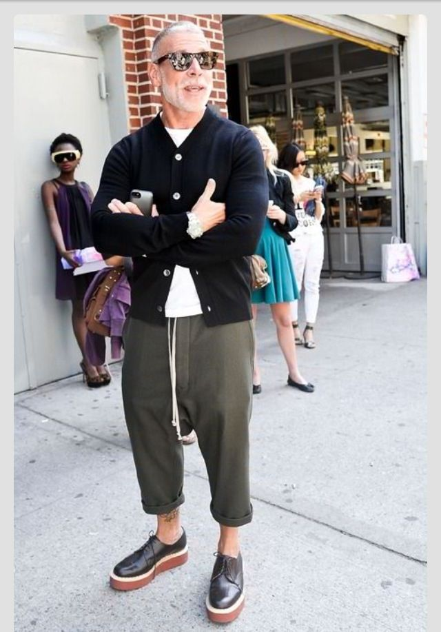 Nick Wooster, Men's Spring Summer Fashion.