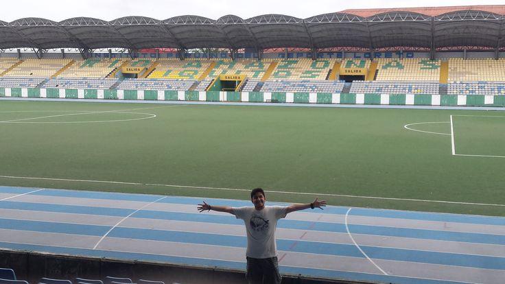 Un estadio conquistado más, el Max Augustín de Iquitos. Buena impresión / #viajes #travel #viajesmuseo #traveller #travelling #vacation #placestovisit #trips #amazonía #selva