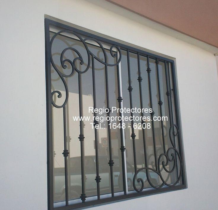 ventana de hierro forjado