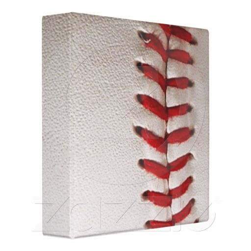 Baseball New 3 Ring Binder.  This would be great for a baseball card collection!  $18.95