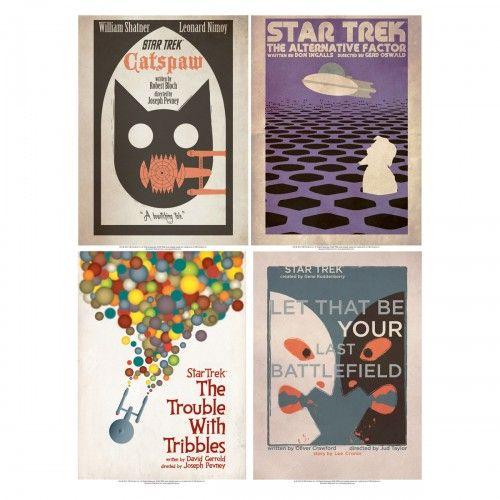 Star Trek: The Original Series Art Prints - Set 3   Star Trek Shop