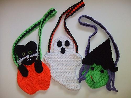 Ravelry: Crochet Village Halloween Purses pattern by Donna Harelik