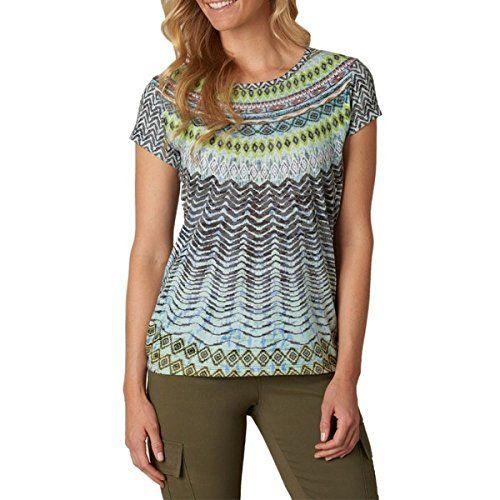 (プラーナ) Prana レディース トップス カジュアルシャツ Sol Tee 並行輸入品  新品【取り寄せ商品のため、お届けまでに2週間前後かかります。】 カラー:Sour Apple カラー:レッド