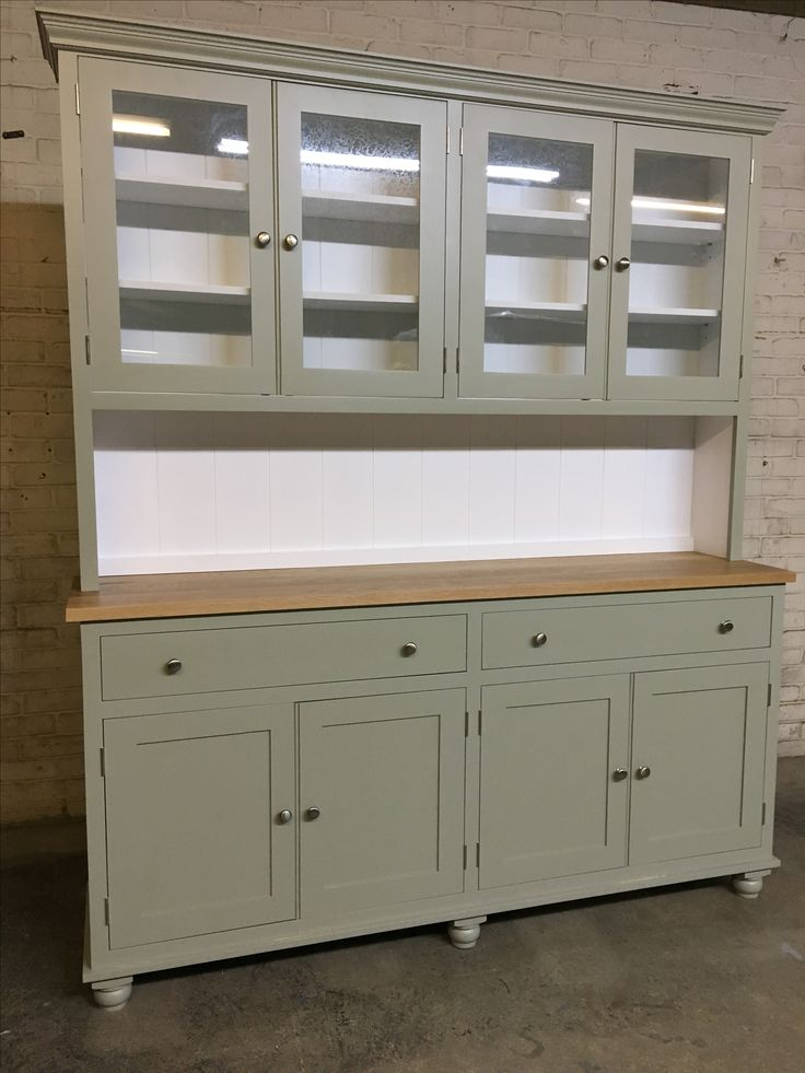 Charming Another Beautiful Glazed Dresser From Cobwebs Furniture Company. This One  In Fu0026B French Gray And