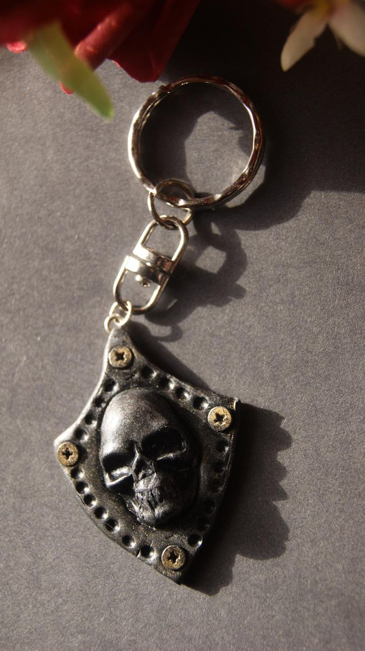 skull keyring https://www.facebook.com/dragonuniquedesigns?ref=bookmarks