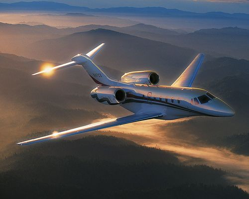 One goal is to have access to a business jet anytime I want.