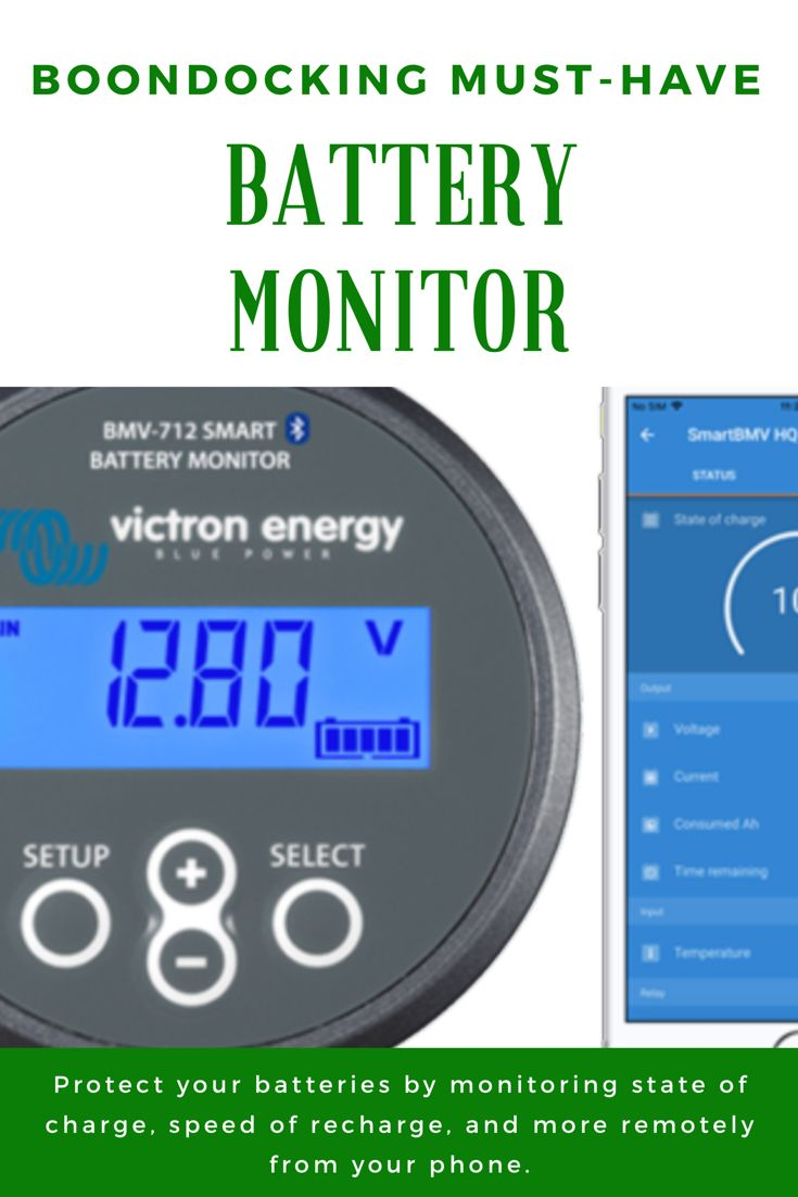 Boondocking Must Have Battery Monitor Learn To Rv Battery Boondocking Monitor