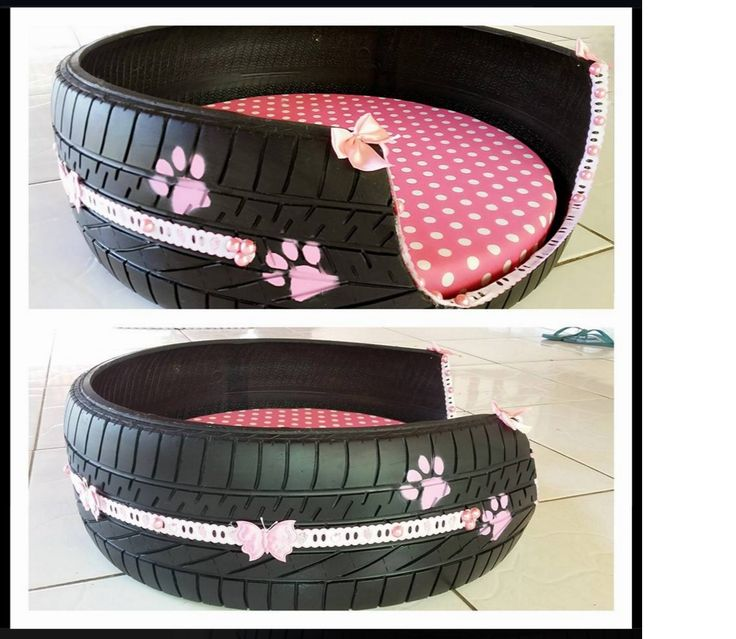 25 best ideas about tyres recycle on pinterest tires - Faire un panier pour chien ...