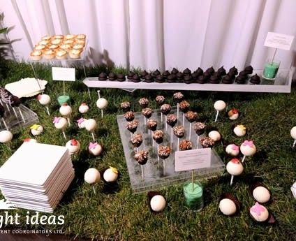 #Buffet on a #golfcourse, what an original idea for your #corporateevent.