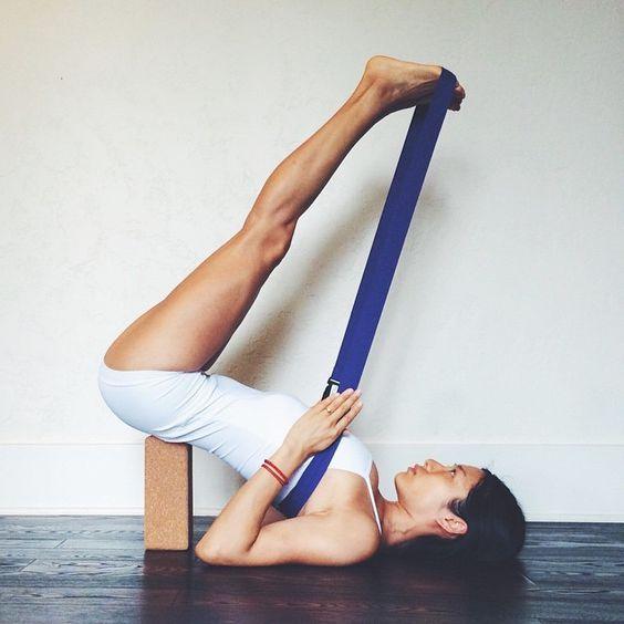 88 best Reclining Supine Asana Iyengar Yoga images on ...