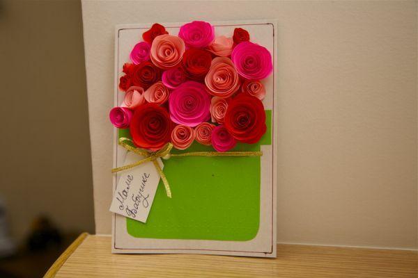 Подарок своими руками на 8 марта маме цветы | Картинки ...