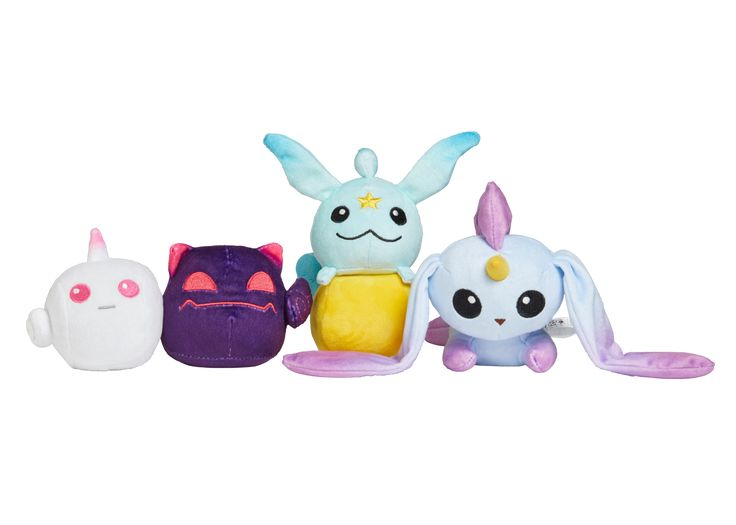 Riot Games Merch | Star Guardian Mini Plush 4-Pack - Plush - Collectibles