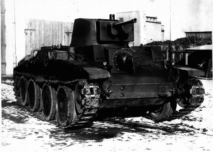 Польский колесно-гусеничный танк 10 ТР