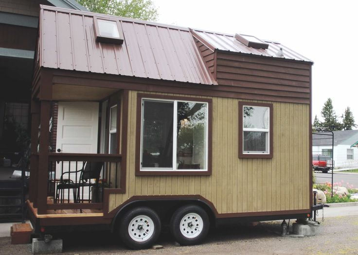 Newly up for sale, this tiny home is surprisingly spacious for it's dimensions. 20 feet from tongue to tail, it's structure is 16′ x 8.5′. You have about 160 sq ft of living space inside the home and the porch adds another 4'x8′ to that. It has 8 windows +4 skylights that add to the... View Article