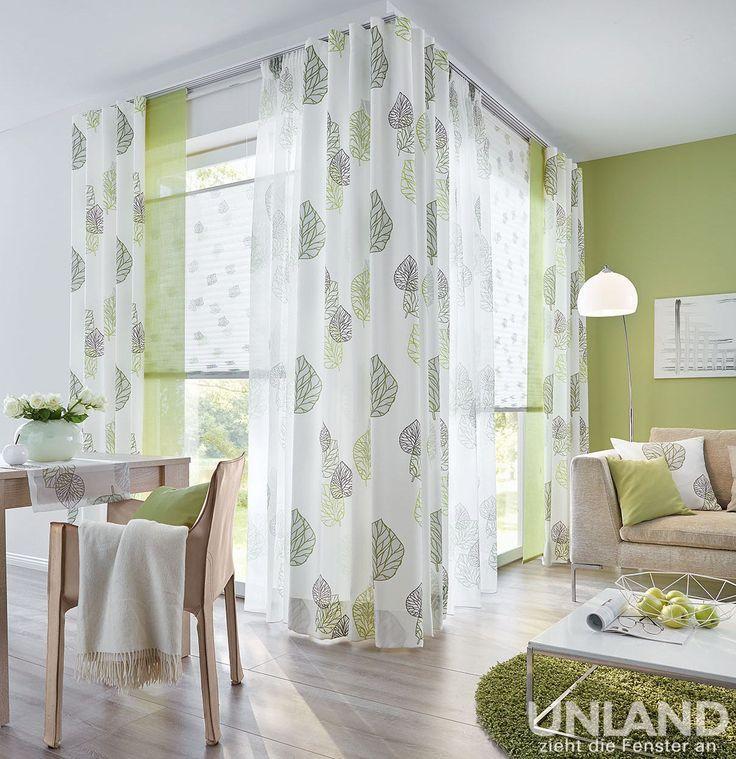 Unland Avik Greenery 001 Vorhang Fensterideen Gardinen Und Sonnenschutz Cu In 2020 Mit Bildern Wohnung Dekoration Coole Vorhange Gardinen